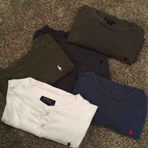 Bundle of Polo Long Sleeve Shorts